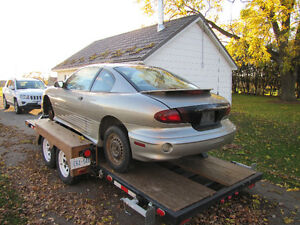 Parting out 2001 Pontiac Sunfire coupe