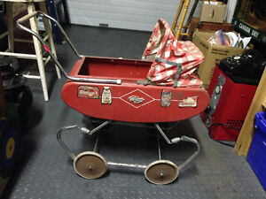 VINTAGE GENDRON BABY CARRAIGE TOY - PARKER PICKERS -