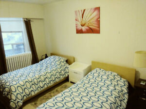 March 1st - furnished shared room for 2 females (535$ each)