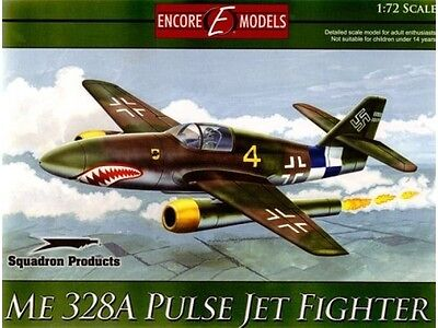 Encore Models 72101 ME 328A Pulse Jet Fighter 1/72 Scale Aircraft Model Kit