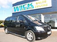 2011 Mercedes-Benz VITO 116 CDI DUALINER XLWB COMBI Van *NO VAT* Manual Combi Va