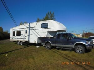 Truck and camper package deal, preferred, but can be negotiated.