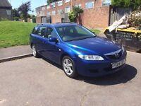 2004 Mazda 6 2.0 Diesel Blue Estate Immaculate Condition