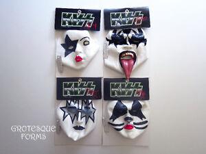 Kiss Masks - Set de 4 masques de Kiss en latex