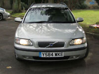 PX Bargain To Clear Volvo V70 2.4 ( 140bhp ) automatic Classic estate