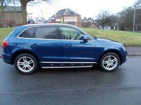 Audi Q5 TDI QUATTRO SE (blue) 2013