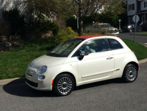 Fiat 500C Lounge convertible 2013
