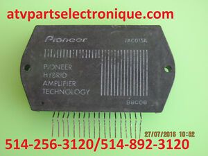PAC015A: IC. POWER AMPLIFIER ELECTRONICS COMPONENTS
