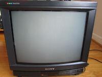 "Sony Trinitron 19"" CRT Multi-system Television TV KV-1984MT"