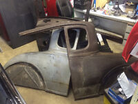 1930/31 Model A coupe project.Decent body,excellent frame.