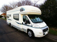 Autotrail Scout SE six berth motorhome with U shape lounge and over cab bed