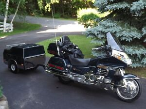 1990 Honda Goldwing tour rig.