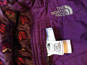 North face snow-suit reversible 18-24 mo