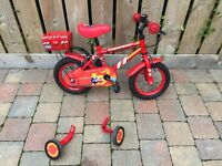 Boys small bike age 3-5