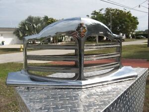 1948-50 PACKARD UPPER CHROME GRILL