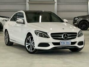 2018 Mercedes-Benz C-Class W205 808MY C200 9G-Tronic White 9 Speed Sports Automatic Sedan Phillip Woden Valley Preview