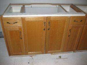 For Sale Oak  Bathroom vanities.