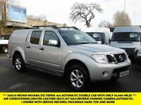 2015 NISSAN NAVARA 2.5 DCI TEKNA 4X4 DOUBLE CAB AUTOMATIC WITH ONLY 33.000 MILES