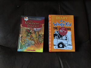 Hard cover Geronimo Stilton, Diary of a whimpy kid