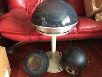 Vintage Electrohome Apollo Saturn Dome Record Player Turntable