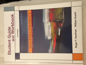 MACROECONOMICS Student Guide and Workbook 4th Canadian Edition