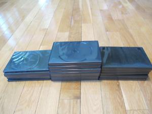 BOÎTIERS DVD OU CD 20 BOÎTIERS POUR RANGER DVD OU CD IL Y EN A D