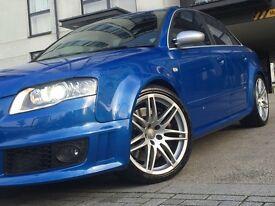 Audi RS4 4.2 Quattro V8 , 56 Reg, Sprint Blue, Sunroof, Buckets, FSH.