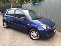 2007/57 FORD FIESTA 1.4 GHIA PETROL 5dr # LEATHERS # FSH - JUST SERVICED # HPI CLEAR