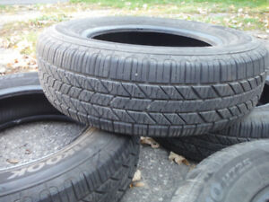 "14"" Honda Civic Tires (like new)"