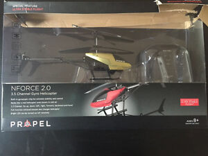 NForce 2.0, 3.5 channel gyro helicopter