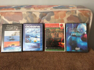 Disney Earth and Christmas DVDs