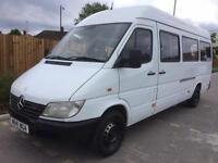MERCEDES BENZ SPRINTER 308 CDI + LWB + HIGH ROOF + MINIBUS