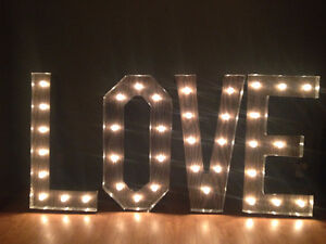 LOVE Marquee Sign London Ontario image 1