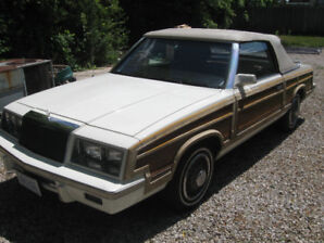 """1983 Chrysler Town & Country Convertible """"Woody"""""""