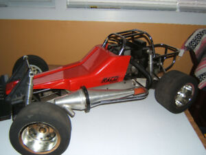 VINTAGE  1/4  SCALE  CARS AND TRUCKS  RC  RACO  WCM  PACESETTER