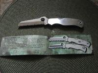 Couteau Spyderco Rescue C14