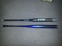2 BASEBALL BATS FOR SALE ONLY 50$ FOR BOTH!!!!!!!!!!!!!!!!!!!!!!