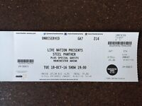Steel Panther standing tickets Manchester Arena