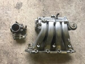OEM GSR manifold + throttle body
