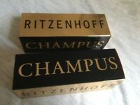 2 X boxed Ritzenhoff Champagne Glasses