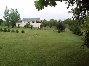 Country living, minutes from Wolfville and Kentville
