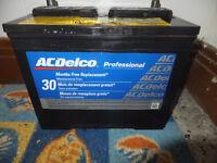 Batterie Delco - 2 ans d'usure
