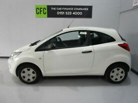 Ford Ka 1.2 Studio White, BUY FOR ONLY £65 A MONTH *FINANCE £0 DEPOSIT AVAILABLE