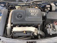 Audi TT spares parts breaking k04 1.8t 20v