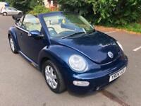 Volkswagen Beetle 2.0 2004MY. LOW MILEAGE, 71 K. MOT, 08/2019. FULL HISTORY.