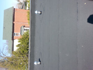 Torching Flat Roofing