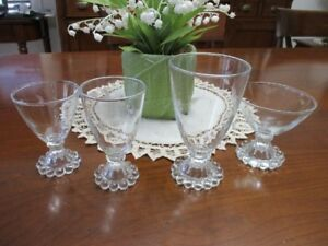 Vintage Verres Anchor Hocking Boopie Berwick Crystal