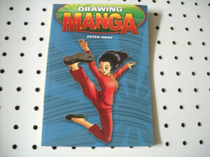 Drawing Manga-Peter Gray + bonus Naruto promo dvd