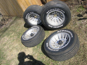 mags/tires  (vari-fit) chev ford chrysler 15 in