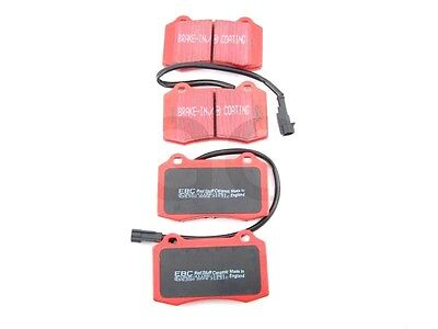 Ford Focus RS mk1 Front Brake Disc Pads Uprated EBC Redstuff Ceramic DP31031C Change Rear Disc Brakes